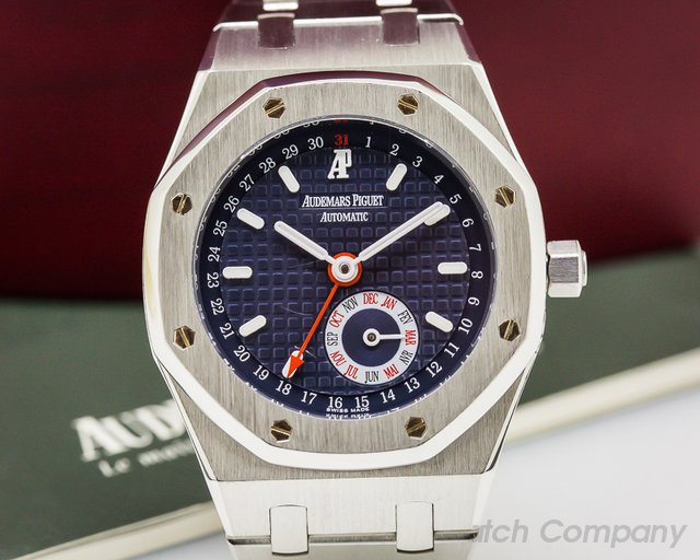 Audemars Piguet Royal Oak Annual Calendar SS Blue Dial