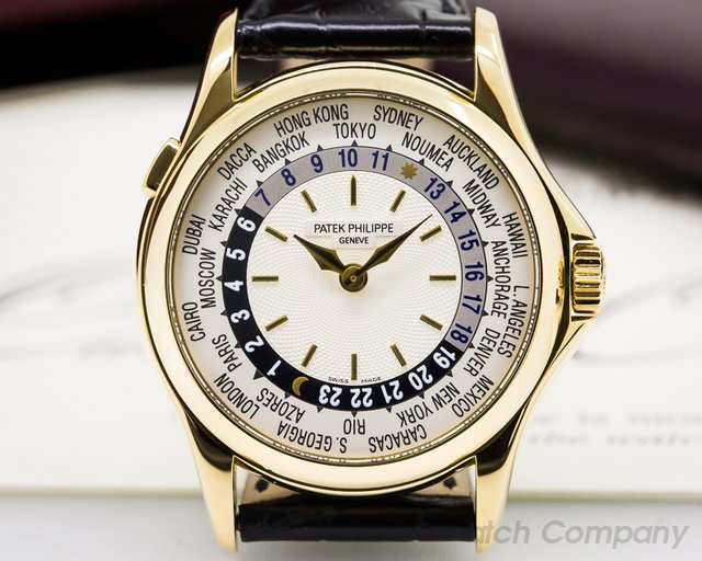 Patek Philippe World Time 18K Yellow Gold