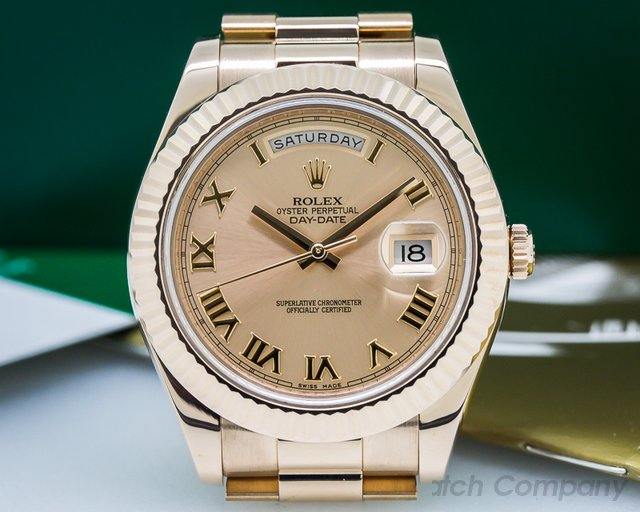 Rolex Day-Date Presidential II Rose Gold Romans