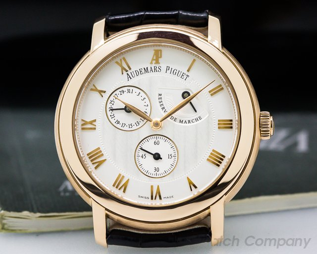Audemars Piguet Jules Audemars Power Reserve 18K Rose