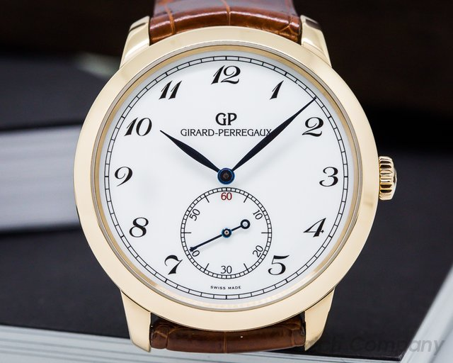 Girard Perregaux 1966 Automatic Small Seconds 40MM Pink Gold