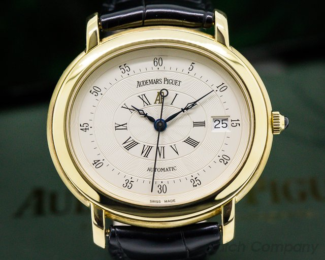 Audemars Piguet Millenary 18K Yellow Gold Silver Dial