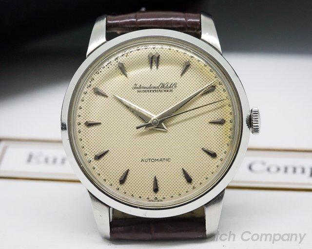 IWC Vintage Honeycomb Dial Pellaton Cal. 853 Automatic SS