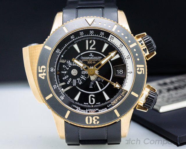 Jaeger LeCoultre Master Compressor Diving Pro Navy Seals 18K Rose Gold