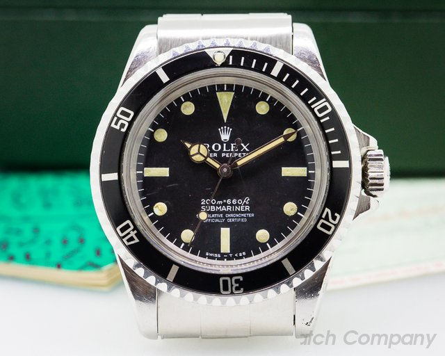 Rolex Vintage Meters First Submariner BOX + PAPERS