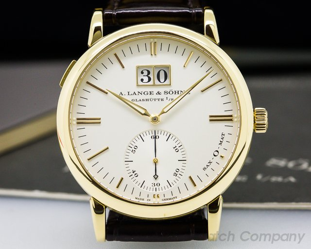 A. Lange and Sohne Langematik Big Date 18K Yellow Gold