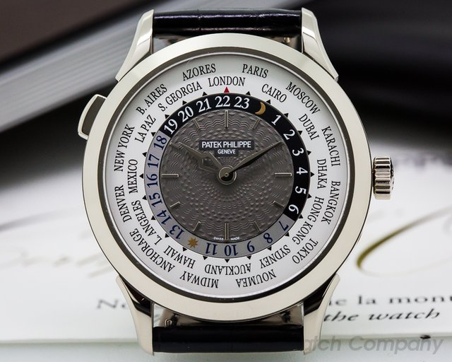 Patek Philippe World Time White Gold NEW Basel 2016 Release UNWORN