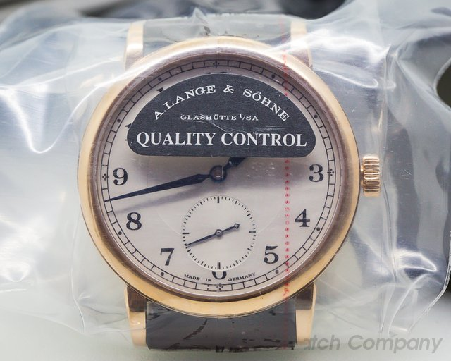 A. Lange and Sohne 1815 18K Rose Gold Silver Dial UNWORN