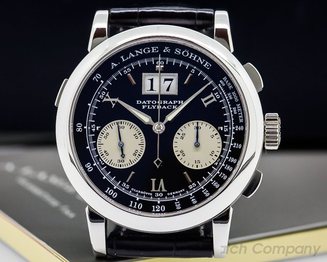 A. Lange and Sohne Datograph Flyback Platinum