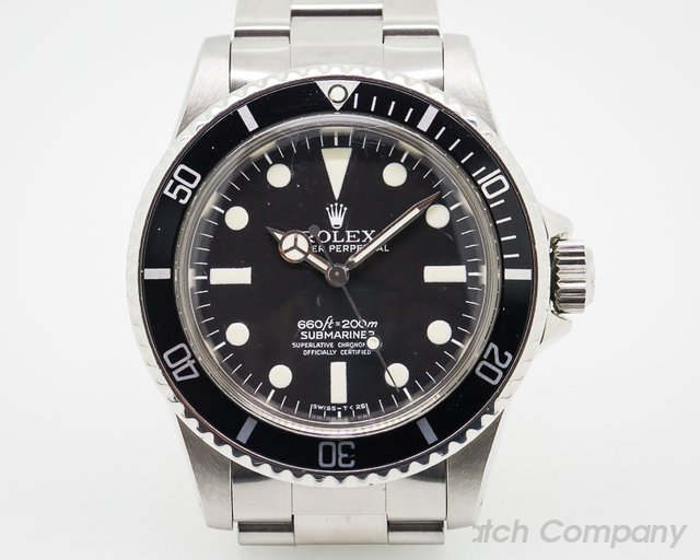 Rolex Vintage 5512 Matte Dial Submariner FIRST MAXI DIAL