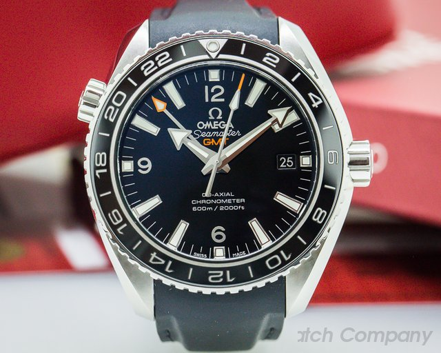 Omega Seamaster Planet Ocean GMT SS / Rubber 42MM