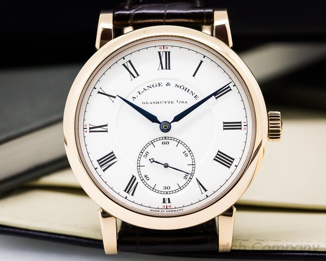 A. Lange and Sohne Richard Lange Pour Le Merite 18K Rose LIMITED