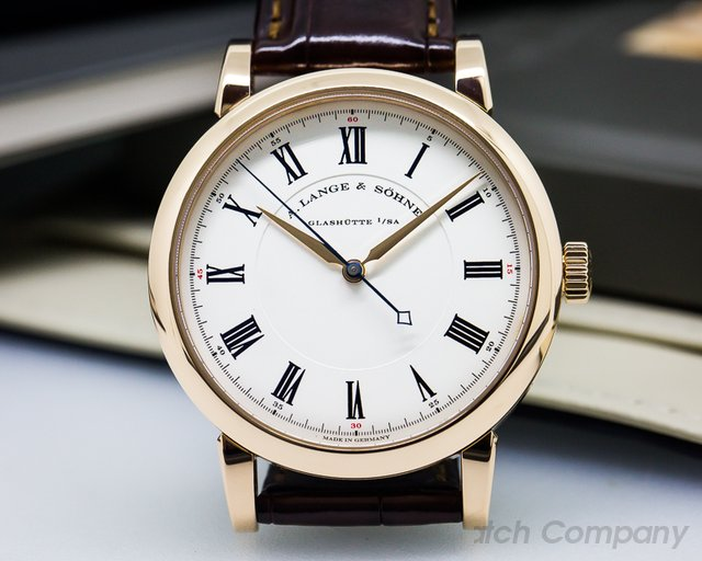 A. Lange and Sohne Richard Lange 18K Rose Gold