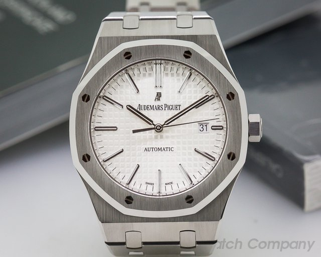 Audemars Piguet Royal Oak White Dial SS / SS