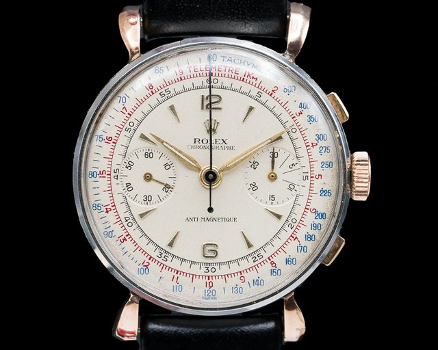 Rolex Vintage Chronograph Anti Magnetic Circa 1944