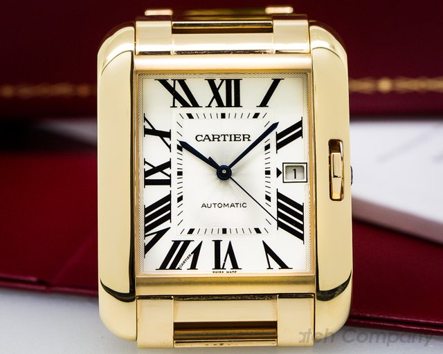 Cartier Tank Anglaise Large Automatic 18k Rose Gold UNWORN