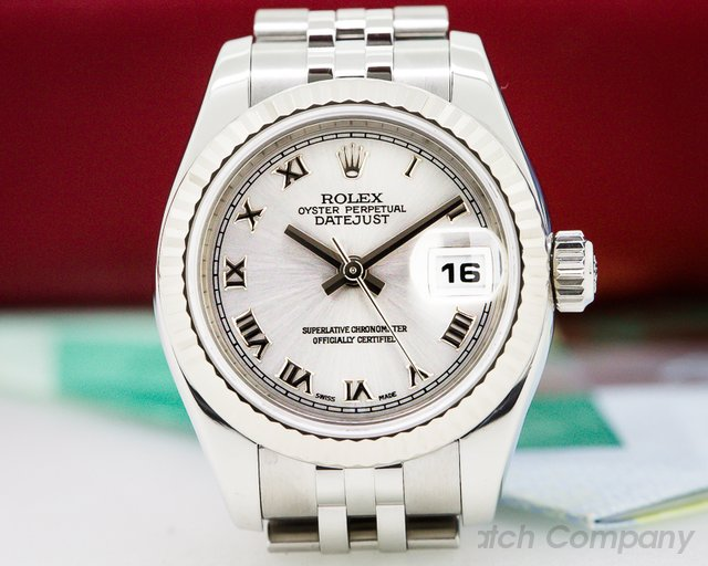 Rolex Lady Datejust Rhodium Dial Jubilee SS / SS