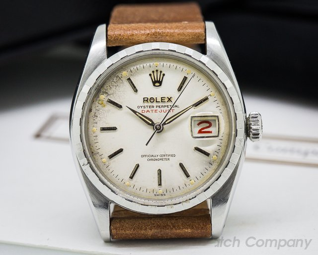 "Rolex Oyster Perpetual SS ""RED DATEJUST"""