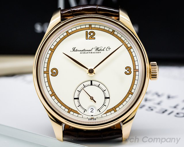 IWC Portuguese 8 Day Hand Wound 75th Anniversary 18K Rose Gold UNWORN