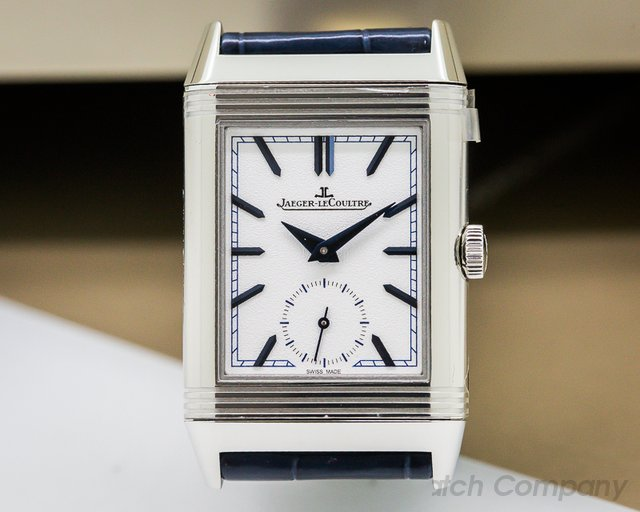 Jaeger LeCoultre Reverso Tribute Duoface SS UNWORN