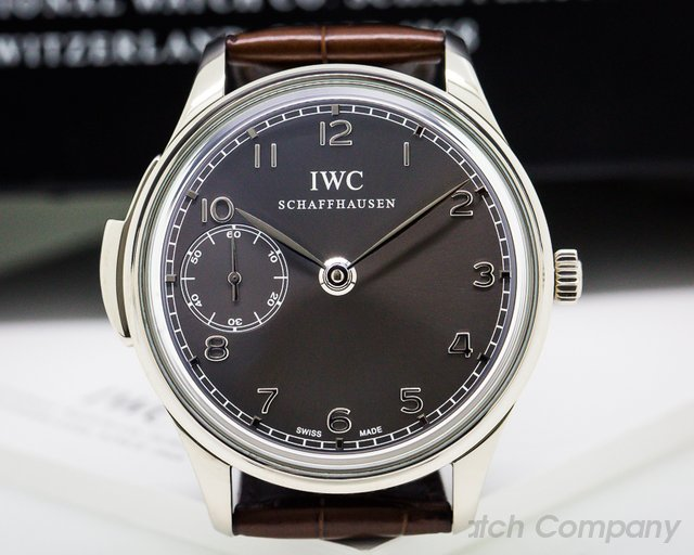 IWC Portuguese Minute Repeater 18K White Gold Limited