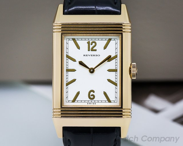 Jaeger LeCoultre Grande Reverso Tribute 1931 Ultra Thin 18K Rose Gold