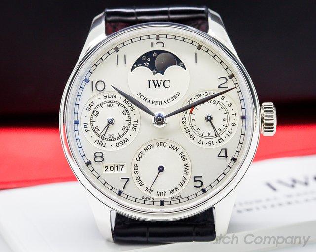 IWC Portuguese Perpetual Calendar Platinum Limited Edition