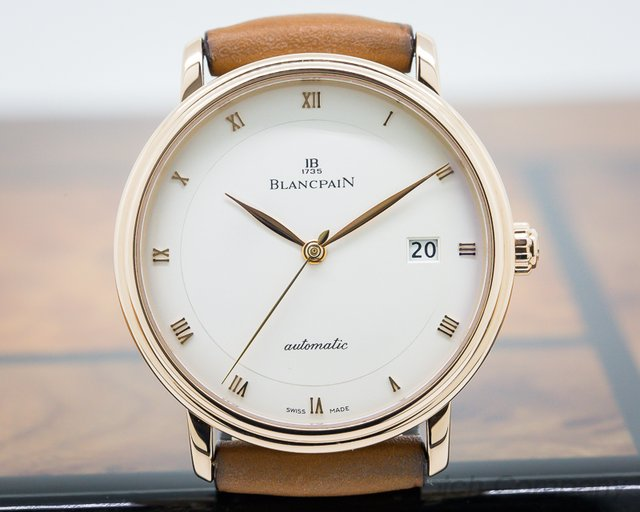 Blancpain 6223-3642 Ultra Slim Automaitc 18K Rose Gold 38MM