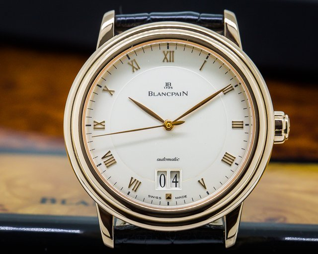 Blancpain Villeret Big Date 18K Rose Gold