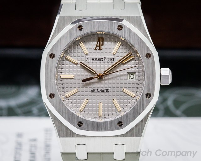 Audemars Piguet 15310PT Royal Oak Platinum / Limited Edition for Italy 39MM