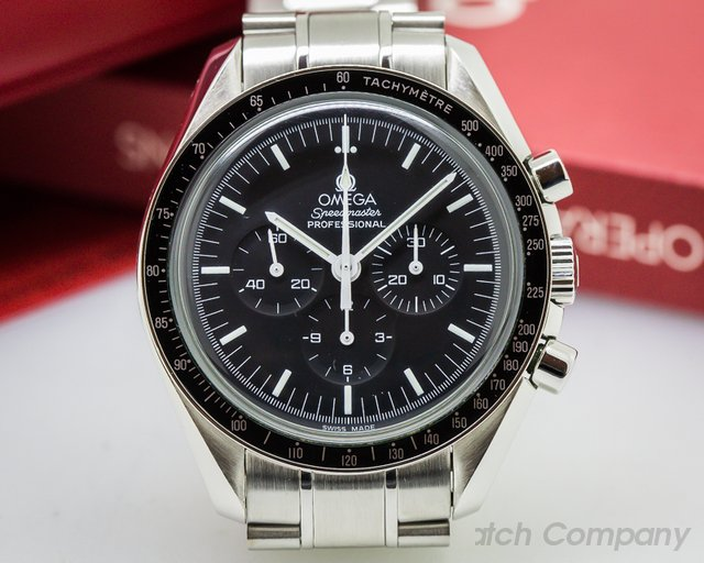 Omega Speedmaster Professional Black Dial SS / SS