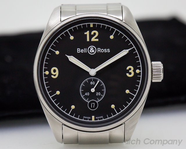 Bell & Ross Vintage 123 Black Dial SS / SS