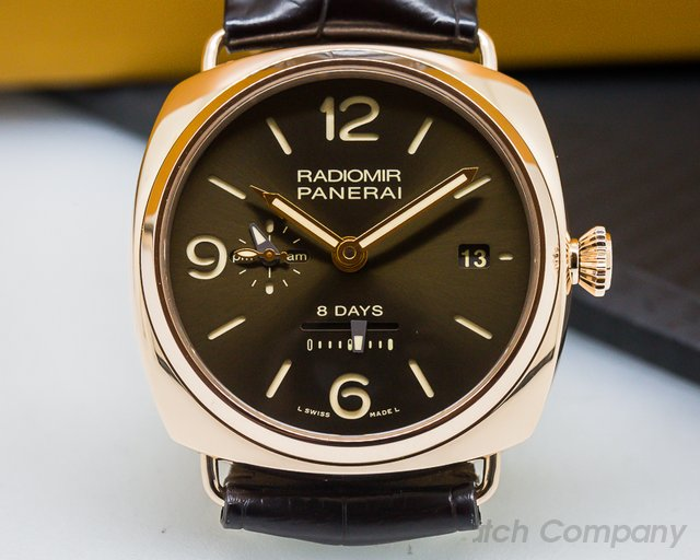 Panerai Radiomir 8 Days GMT Oro Roso Special Edition 45MM