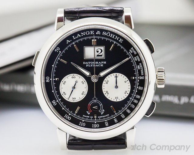 A. Lange and Sohne Datograph Up / Down Platinum