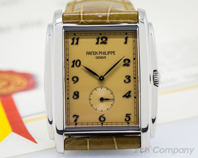 Patek Philippe Gondolo 18K White Gold Manual Wind