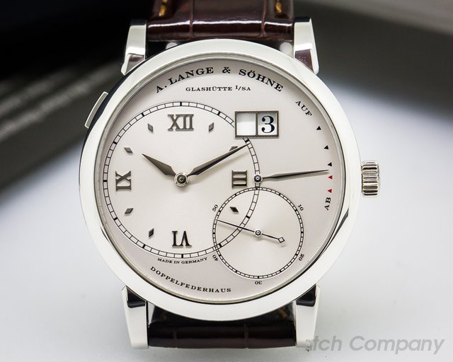 A. Lange and Sohne Grand Lange 1 Platinum