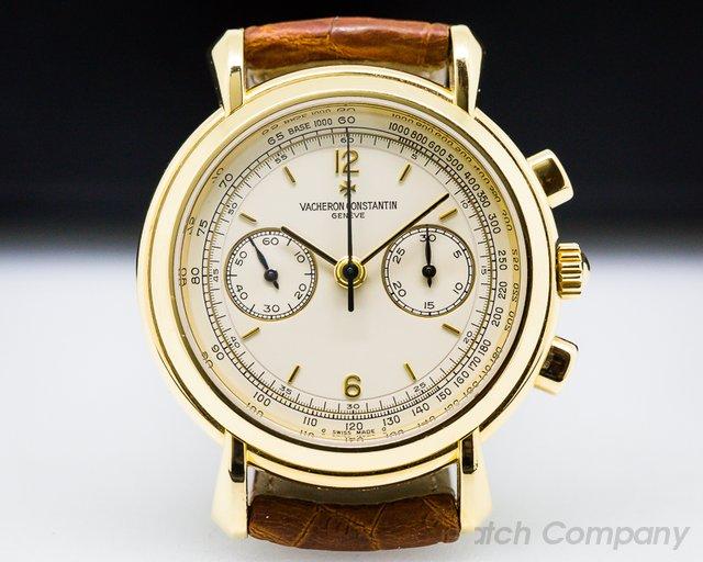 Vacheron Constantin Les Historiques Chronograph 18K Yellow Gold