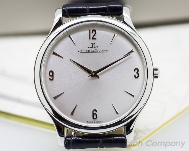 Jaeger LeCoultre Ultra Thin SS Silver Dial
