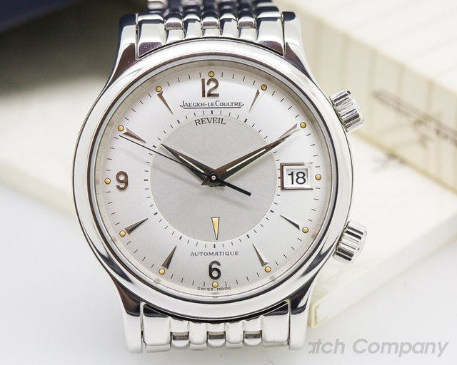 Jaeger LeCoultre Master Reveil Silver Dial SS / SS