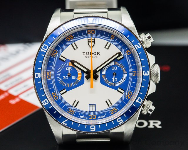 Tudor Heritage Chronograph Silver Dial SS / SS