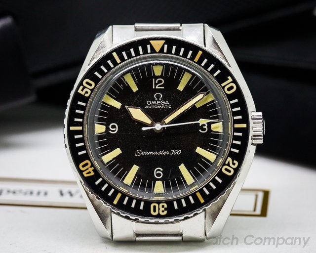 Omega Vintage Seamaster 300 INCREDIBLE on Original Bracelet