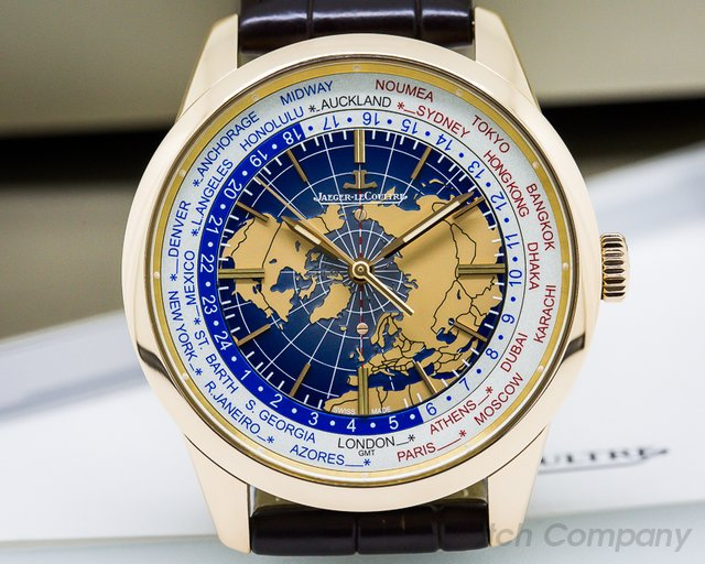 Jaeger LeCoultre Geophysic Universal Time Rose Gold