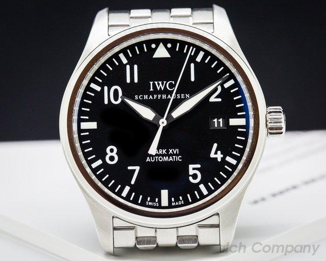 IWC Mark XVI Black Dial SS / SS