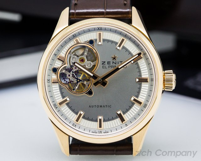Zenith El Primero Synopsis Rose Gold / Leather