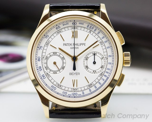 Patek Philippe Chronograph 18K Yellow Gold BEYER LIMITED EDITION