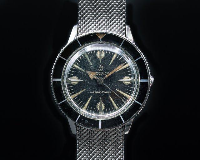 Breitling 1004 Vintage Super Ocean Circa 1959 + Original Bracelet