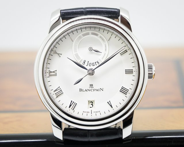 Blancpain Le Brassus 8 Day Platinum Limited