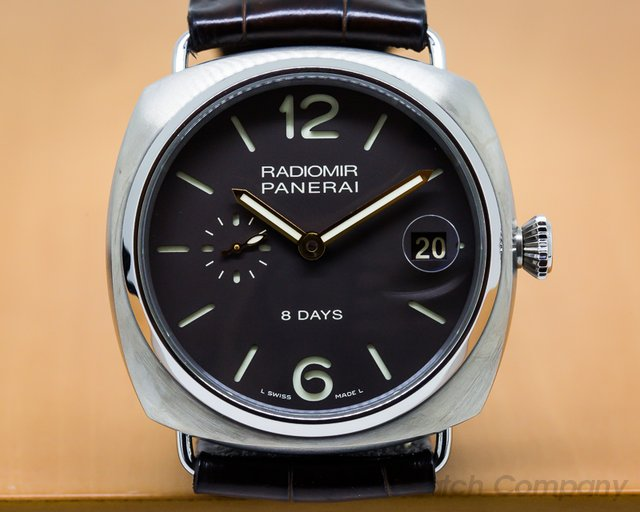 Panerai Radiomir Titanium 8 Day Manual Wind
