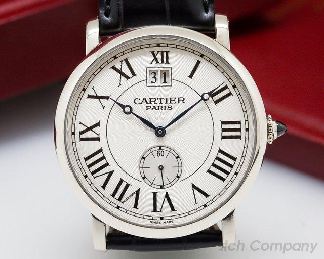 Cartier Cartier Privee Rotonde Large Date 18K WG