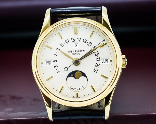 Patek Philippe Retrograde Perpetual Calendar 18K Yellow Gold